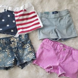 Bundle Deal 4 pairs of girls shorts